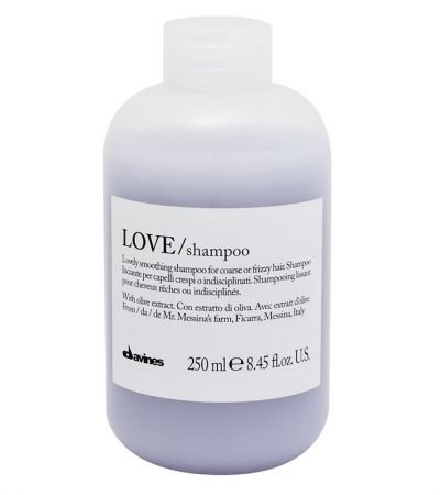 Davines love smoothing shampoo